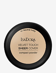 Isadora - Velvet Touch Sheer Cover Compact Powder Neutral Ivory - puder - neutral ivory - 1