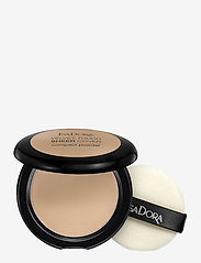 Isadora - Velvet Touch Sheer Cover Compact Powder - puder - neutral beige - 0
