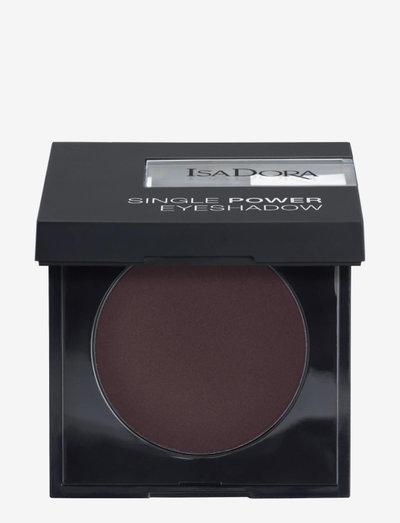 Single Power Eyeshadow - Ögonskugga - black plum