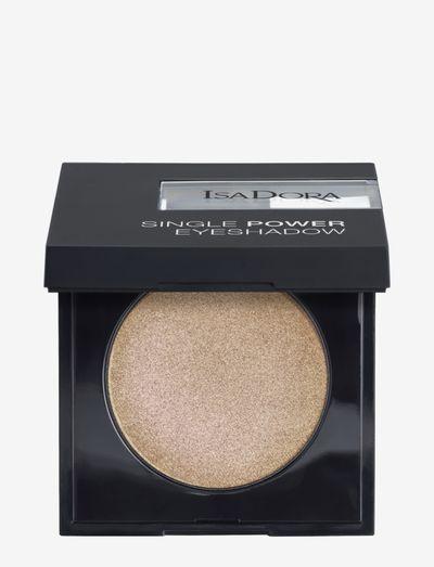 Single Power Eyeshadow - Ögonskugga - frosted beige