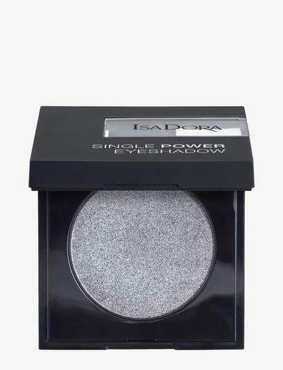 Single Power Eyeshadow Silver Chrome - Ögonskugga - silver chrome