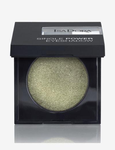 Single Power Eyeshadow - Ögonskugga - park green
