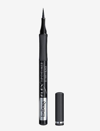 Flex Tip Eyeliner Matt Black - eyeliner - matt black