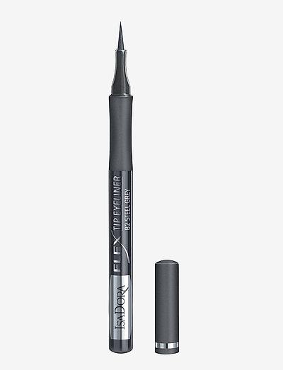Flex Tip Eyeliner Steel Grey - silmänrajauskynä - steel grey