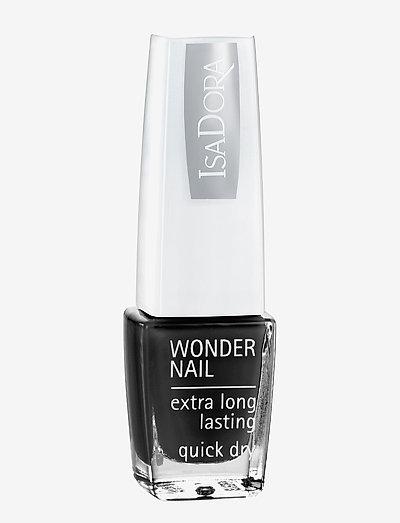 WONDER NAIL 191 BLACK LACQUER - nagellack - 191 black lacquer