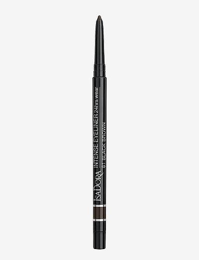 INTENS EYELINER 24 HRS WEAR61 BLACK BROWN - eyeliner - 61 black brown