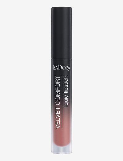 Velvet Comfort Liquid Lipstick Coral Rose - liquid lipstick - coral rose