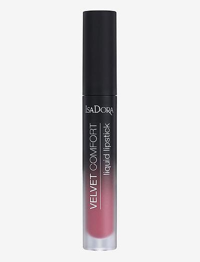 Velvet Comfort Liquid Lipstick Mauve Pink - liquid lipstick - mauve pink