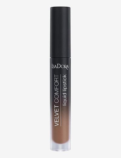 Velvet Comfort Liquid Lipstick Cool Brown - liquid lipstick - cool brown