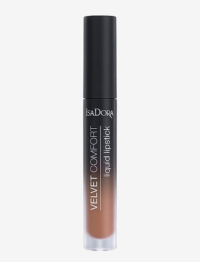 Velvet Comfort Liquid Lipstick Warm Nude - läppstift - warm nude