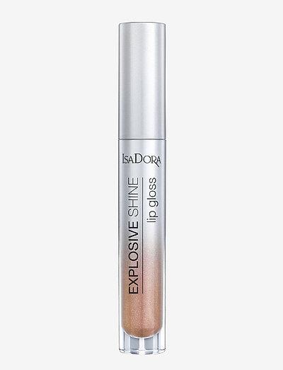 Explosive Shine Lip Gloss - läppglans - nude sparkle