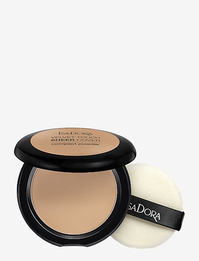 Velvet Touch Sheer Cover Compact Powder Warm Tan - pudder - warm tan