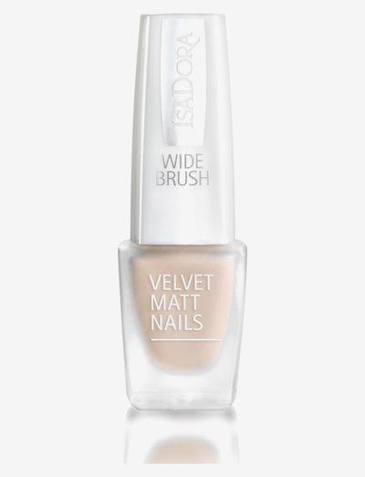 Velvet Matt Nails - nagellack - peach cream