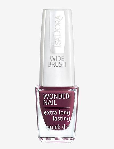 Wonder Nail Red Plum - nagellack - red plum