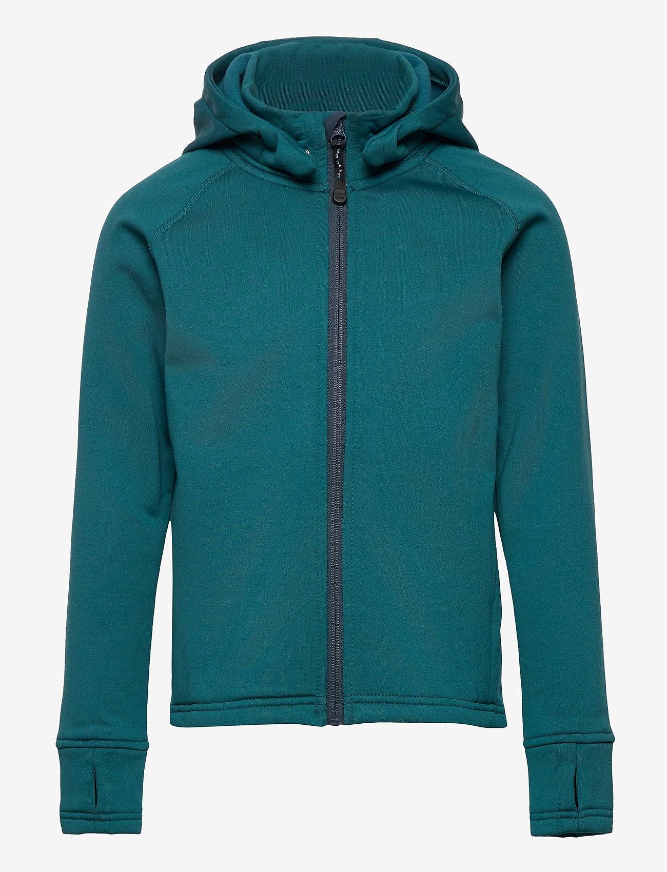 ISBJÖRN of Sweden - PANDA  Primaloft® Hoodie - isolerede jakker - petrol - 0