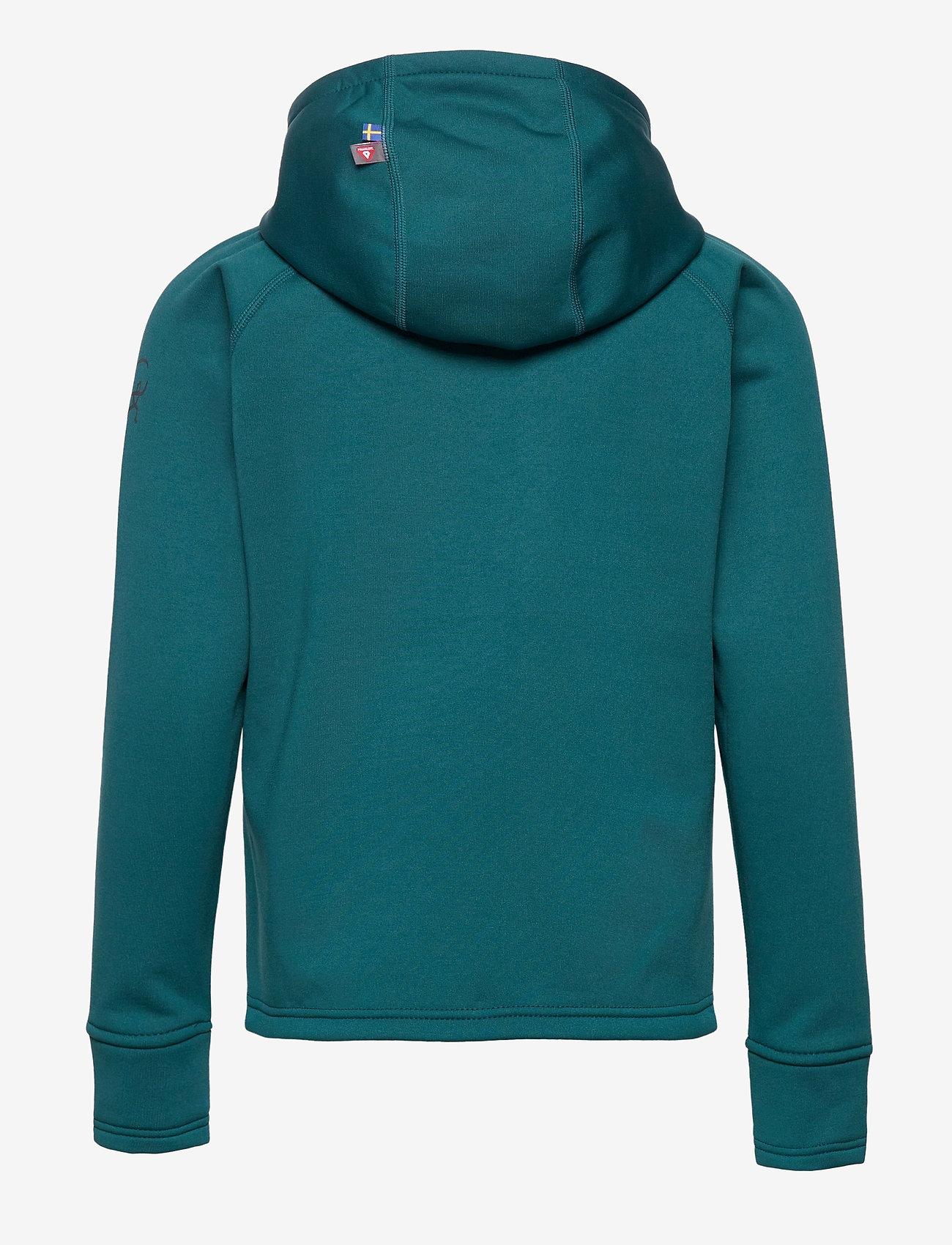 ISBJÖRN of Sweden - PANDA  Primaloft® Hoodie - isolerede jakker - petrol - 1