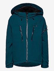 ISBJÖRN of Sweden - CARVING Winter Jacket - ski jackets - petrol - 1