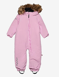 TODDLER Padded Jumpsuit - snowsuit - frostpink