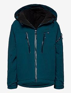 CARVING Winter Jacket - ski jassen - petrol
