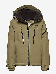 CARVING Winter Jacket - MOSS
