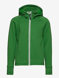 PANDA  Primaloft® Hoodie - insulated jackets - apple white zip