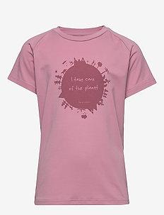 Earth Tee - krótki rękaw - dusty pink