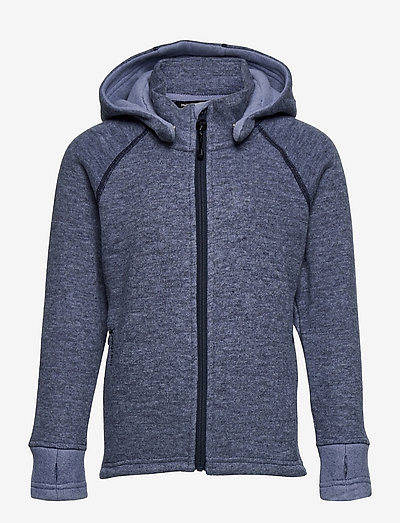 WOOLY Hoodie - insulated jackets - denim