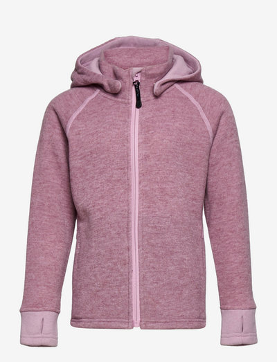 WOOLY Hoodie - insulated jackets - dusty pink