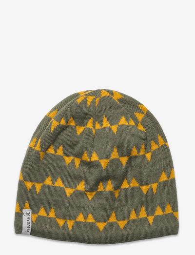 HAWK Knitted Cap - beanies - moss
