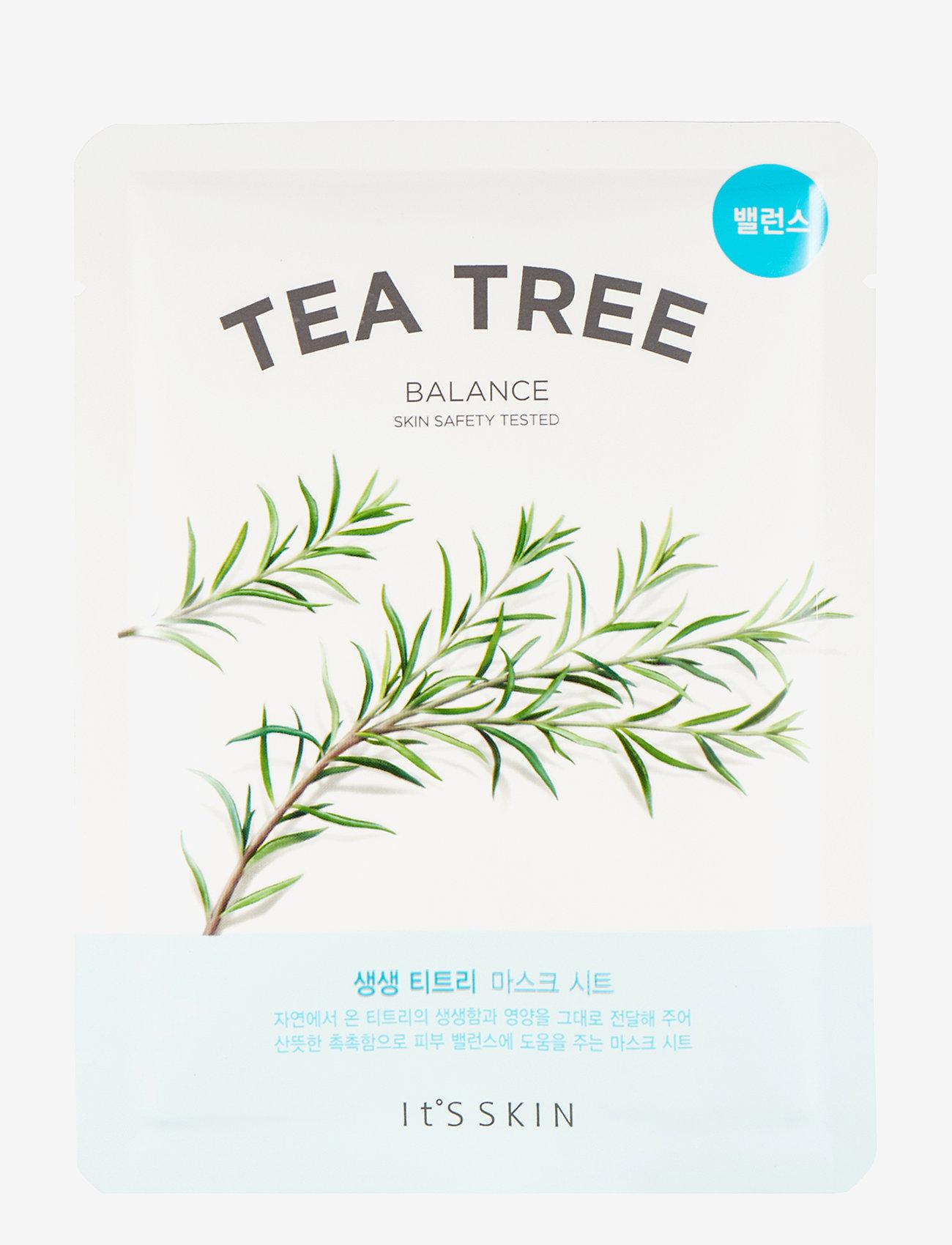 It'S SKIN - It´S SKIN The Fresh Mask Sheet Tea Tree - ansiktsvård - clear - 0