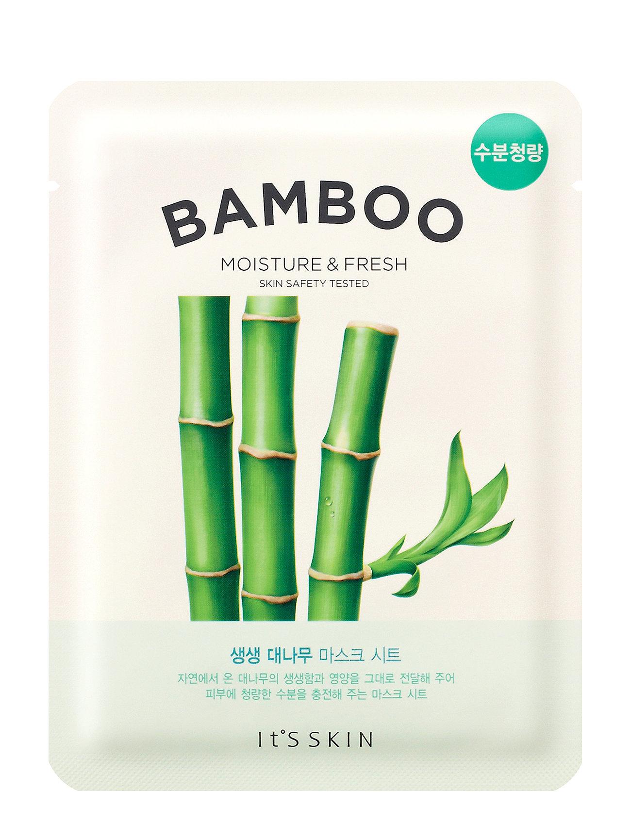 Image of It´S Skin The Fresh Mask Sheet Bamboo Ansigtsmaske Makeup Nude It'S SKIN (3191339091)