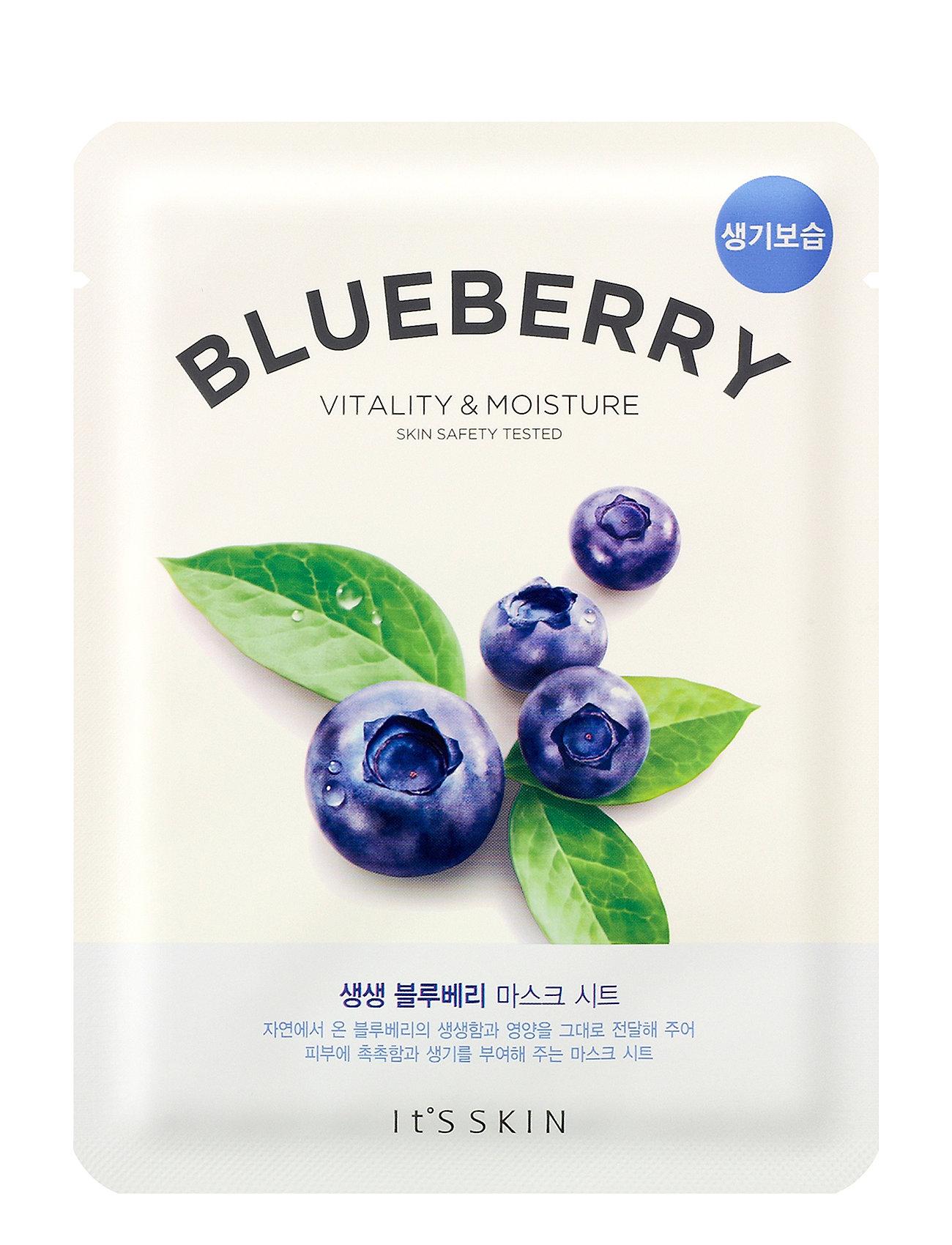 Image of It´S Skin The Fresh Mask Sheet Blueberry Ansigtsmaske Makeup Nude It'S SKIN (3108317279)