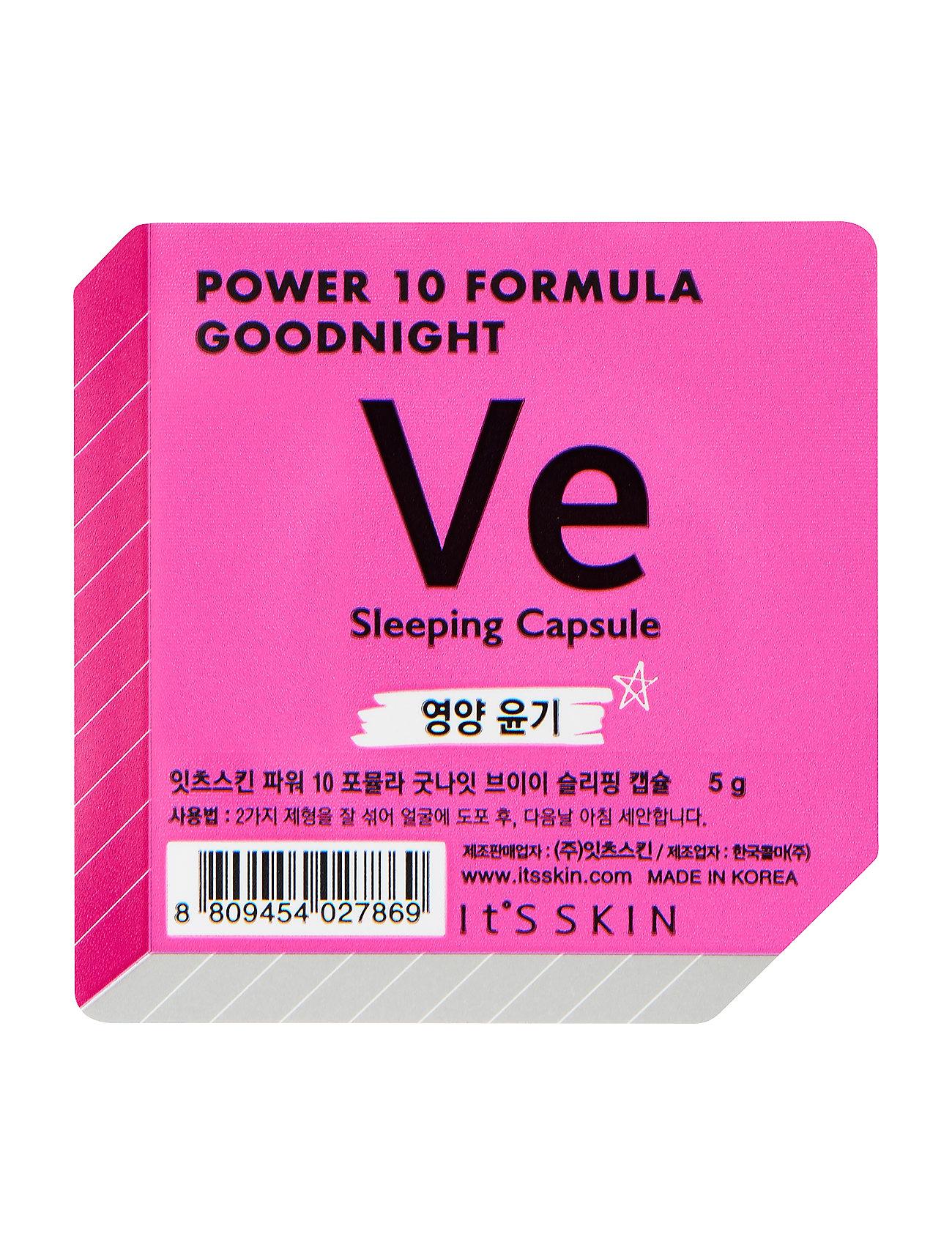 Image of It'S Skin Formula Goodnight Sleeping Capsule Ve Beauty WOMEN Skin Care Face Moisturizers Night Cream Nude It'S SKIN (3158644447)