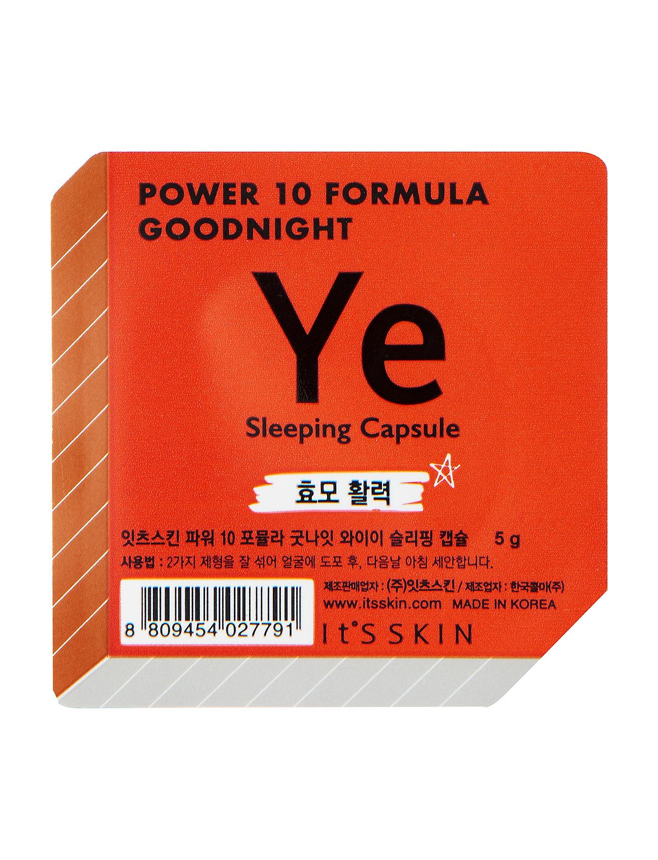 Image of It'S Skin Formula Goodnight Sleeping Capsule Ye Beauty WOMEN Skin Care Face Moisturizers Night Cream Nude It'S SKIN (3158644433)