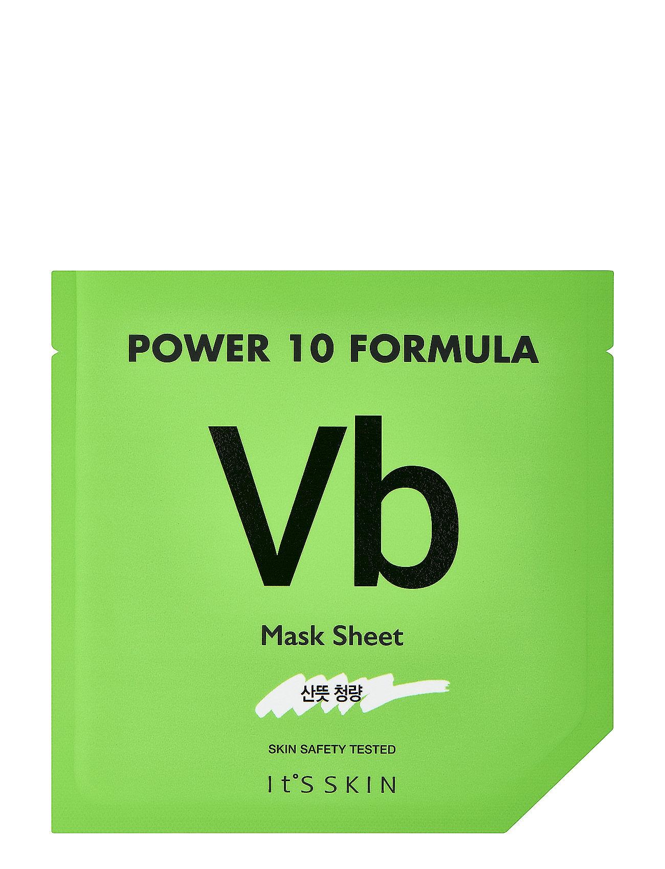 Image of It´S Skin Power 10 Formula Mask Sheet Vb Ansigtsmaske Makeup Nude It'S SKIN (3067546675)