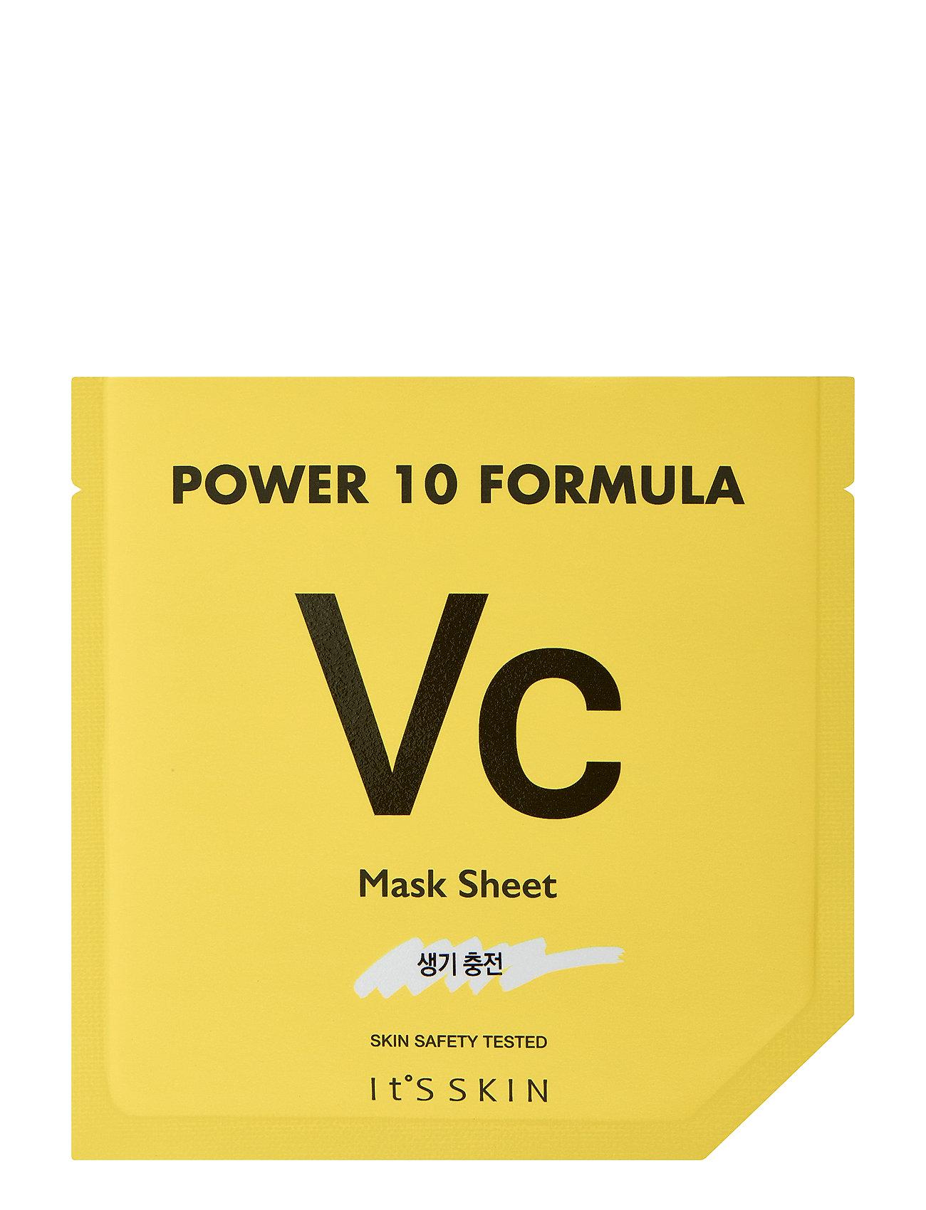 Image of It´S Skin Power 10 Formula Mask Sheet Vc Ansigtsmaske Makeup Nude It'S SKIN (3067546673)
