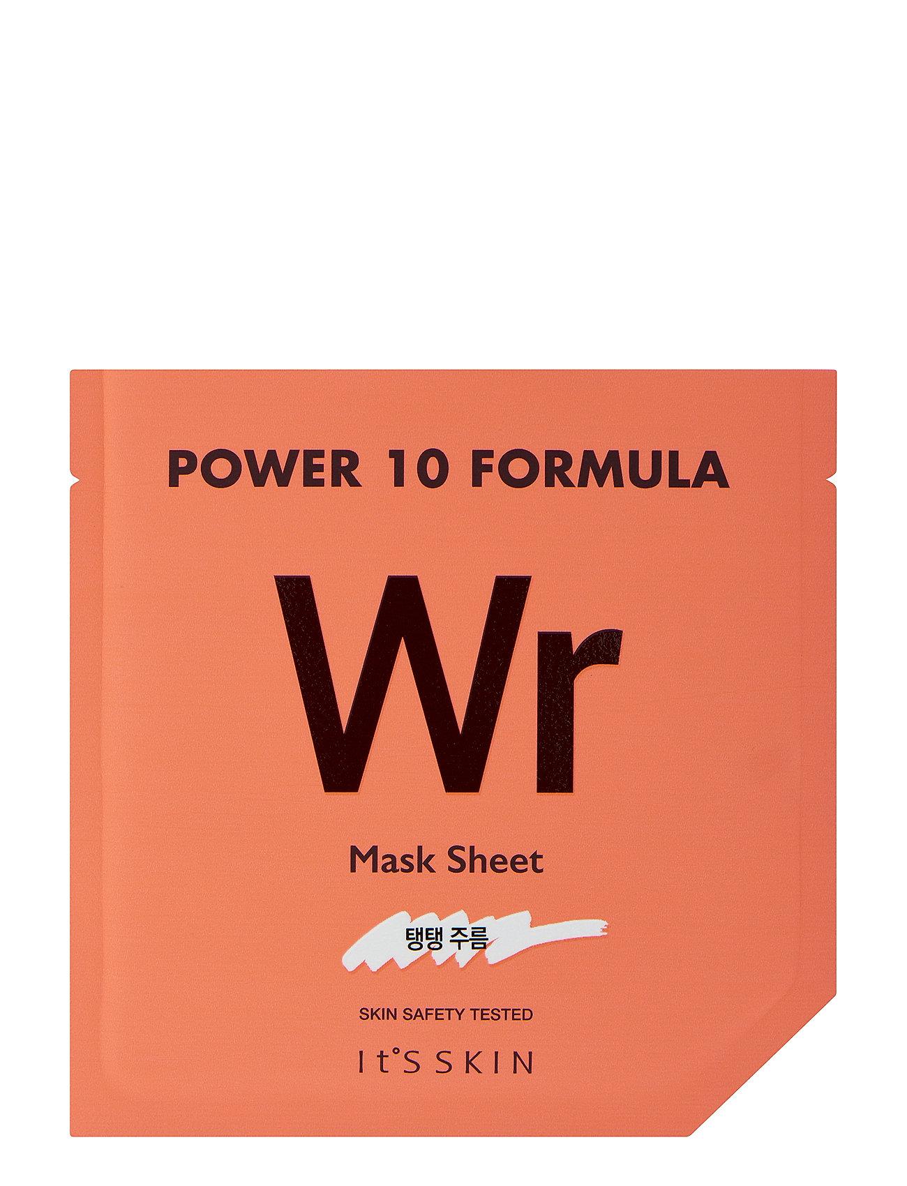 Image of It´S Skin Power 10 Formula Mask Sheet Wr Ansigtsmaske Makeup Nude It'S SKIN (3077536491)