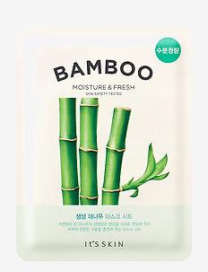 It´S SKIN The Fresh Mask Sheet Bamboo - sheet mask - clear
