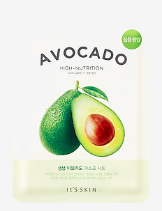 It´S SKIN The Fresh Mask Sheet Avocado - sheet mask - clear