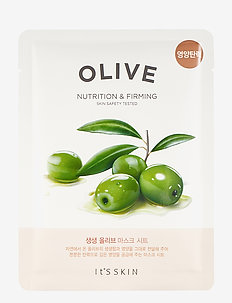 It´S SKIN The Fresh Mask Sheet Olive - sheet mask - clear