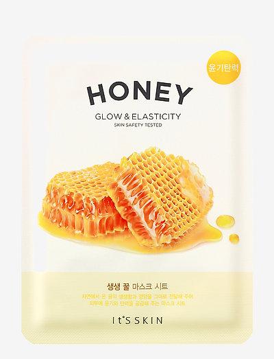 It´S SKIN The Fresh Mask Sheet Honey - sheet mask - clear
