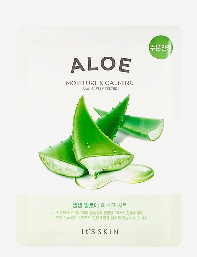 It´S SKIN The Fresh Mask Sheet Aloe - sheet mask - clear
