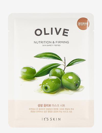 It´S SKIN The Fresh Mask Sheet Olive - sheet mask - clear