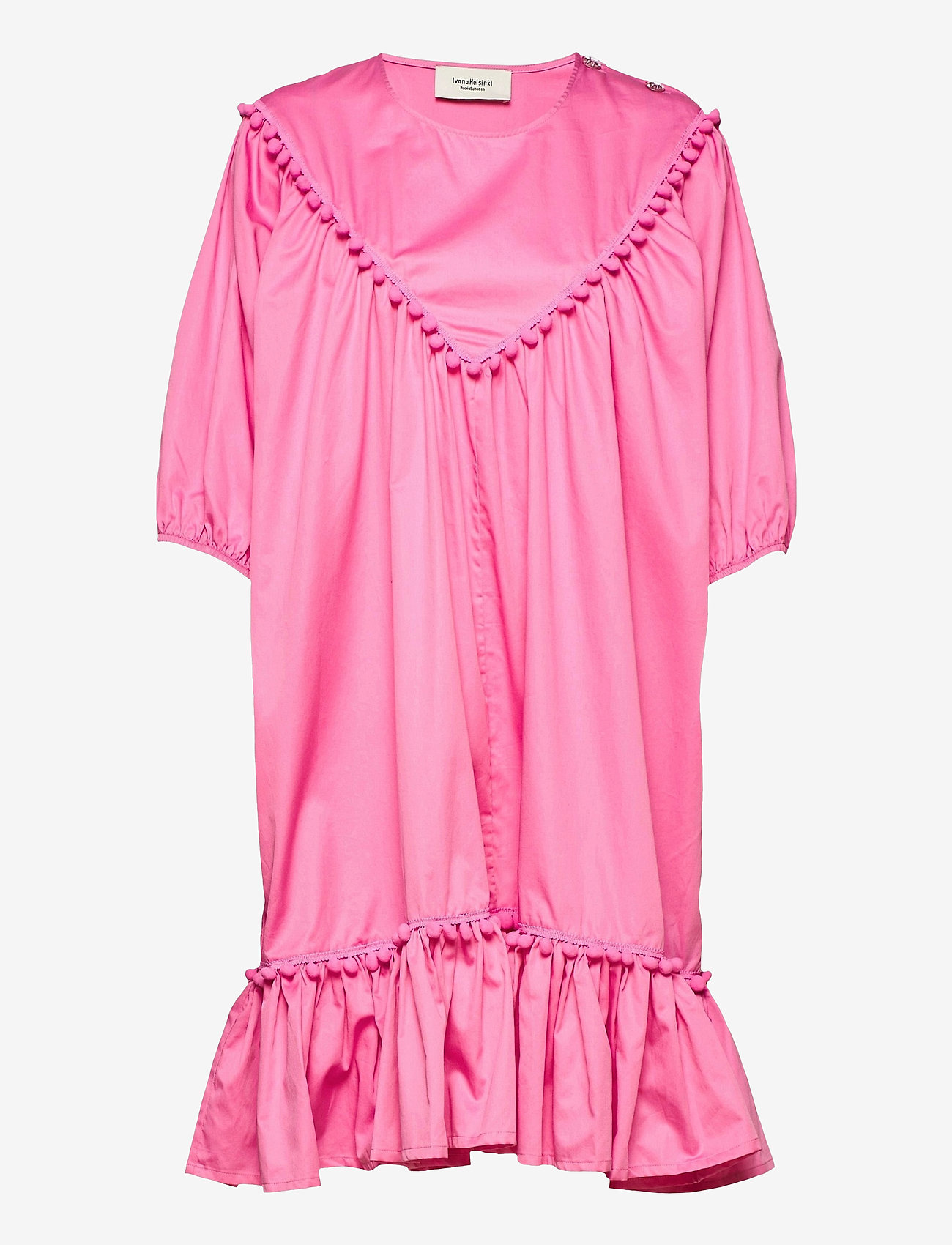 Ivana Helsinki - Hertta dress - sommarklänningar - pink - 0