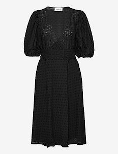 Heljä dress - sommarklänningar - black