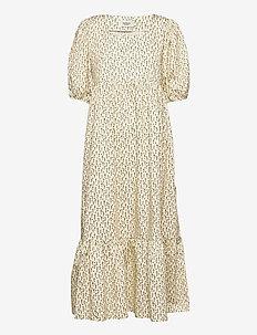 Birgitta dress - sommarklänningar - white