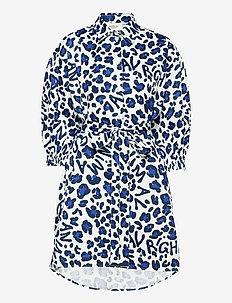 Inari dress - sommarklänningar - blue