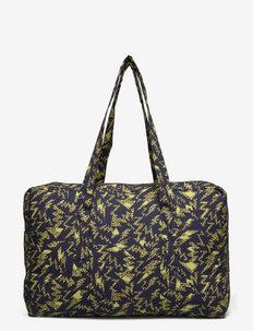Weekend Bag - viikonloppulaukut - black, brown/ panther flash