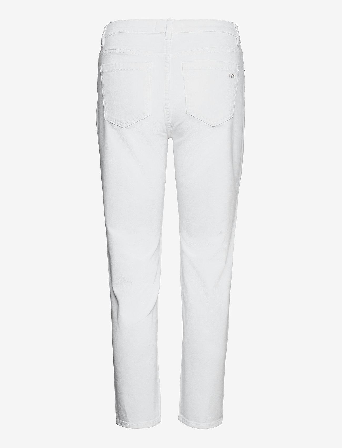IVY Copenhagen - Lavina MOM white - chinos - white - 1