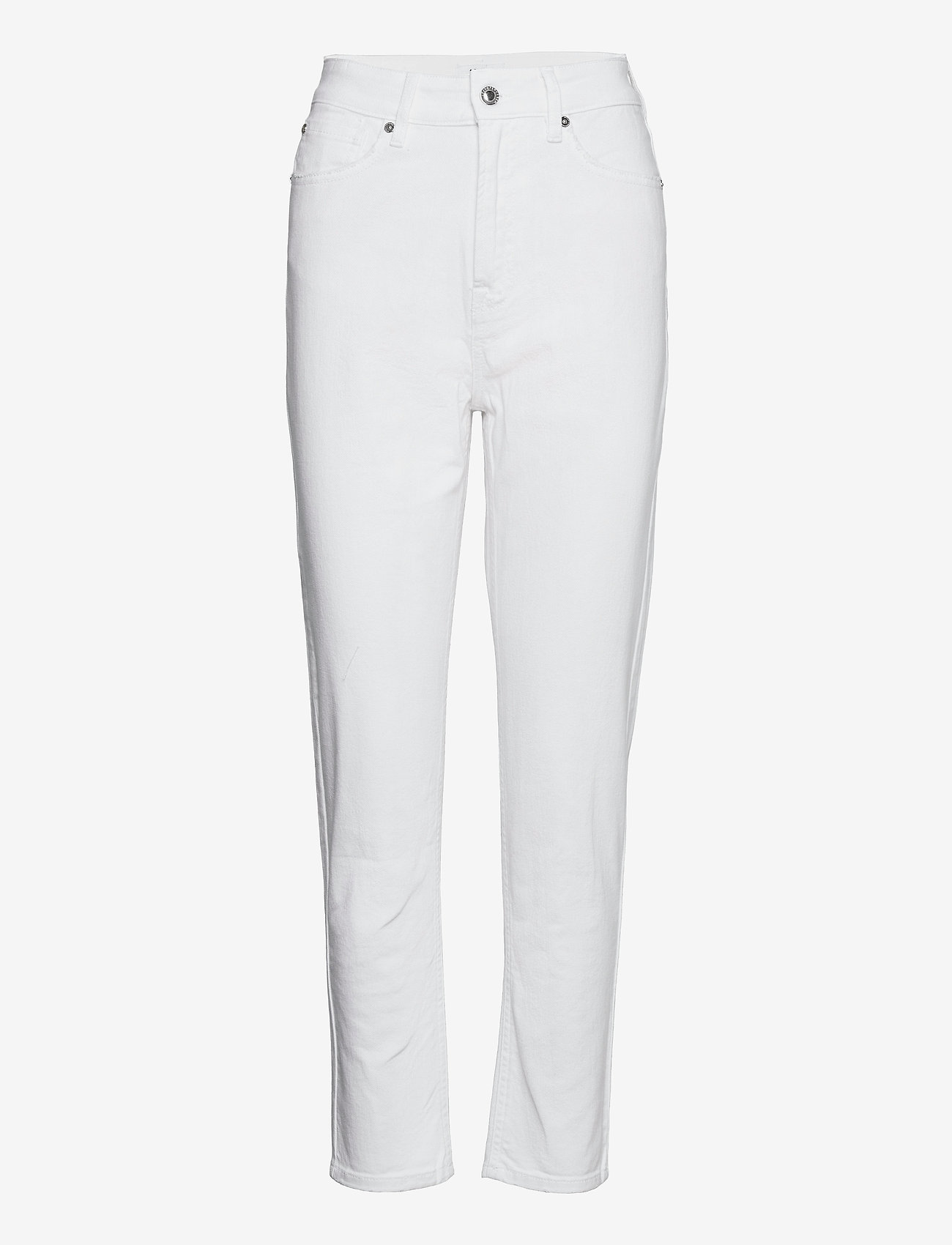 IVY Copenhagen - Angie MOM jeans white - slim fit bukser - white - 0